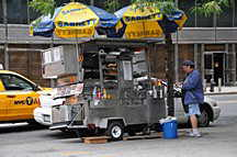Fulton Street, Hot Dog Stand