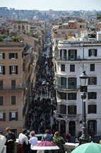 Spanische Treppe, Via dei Condotti