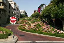 Lombard Street am Russian Hill